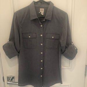 J.CREW Chambray Button Down Shirt